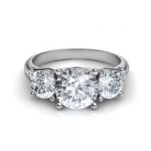 3-stone-pave-simulated-diamond-engagement-ring-by-puregemsjewels