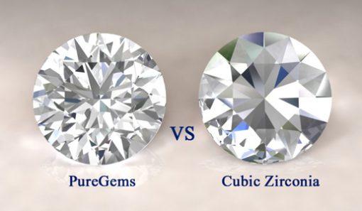 diamonds diamond and cubic zirconium