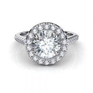 floating-halo-Man-Made-diamond-engagement-ring-PureGemsJewels