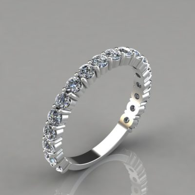 Round-Cut-Wedding-Band-Ring-Man-Made-Diamond