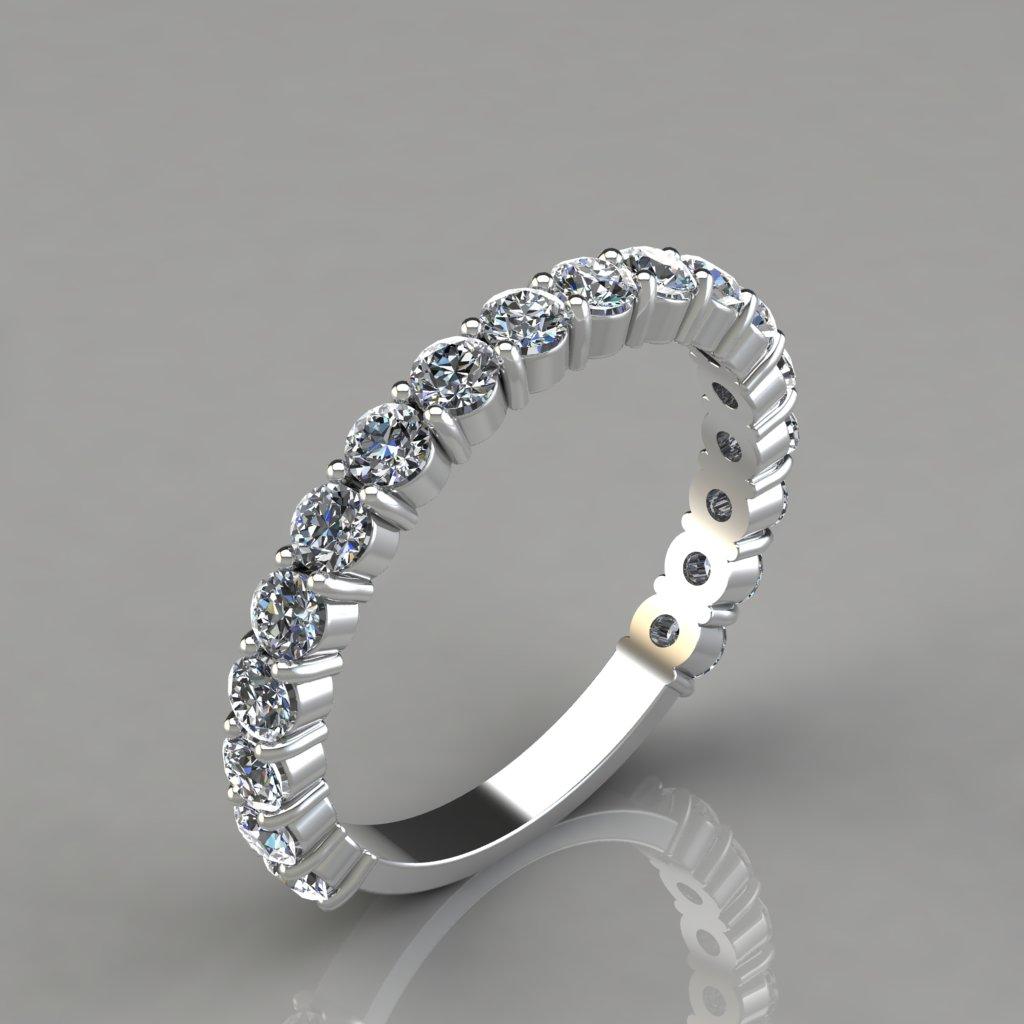Round-Cut-Wedding-Band-Ring-Man-Made-Diamond