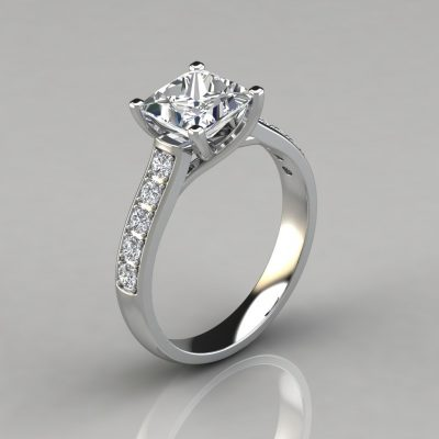 021w1-cross-prong-white-solid-gold-princess-cut-engagement-ring