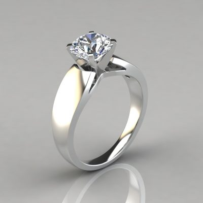 058w1-Wide-Band-Cathedral-Style-Solitaire-Engagement-Ring-by-Pure-Gems-Jewels-White-Gold