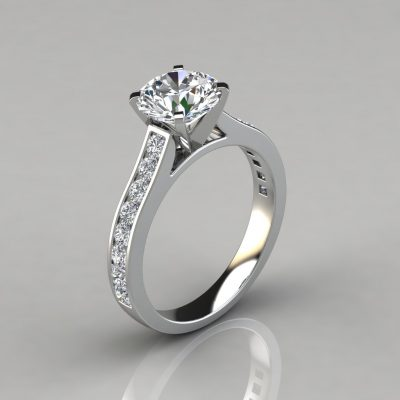 079w1-Cathedral-Style-Round-Cut-Lab-Diamond-Channel-Set-Engagement-Ring-Pure-Gems-Jewels-White-Gold