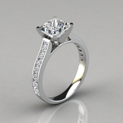 white-gold-cathedral-style-princess-cut-channel-set-engagement-ring