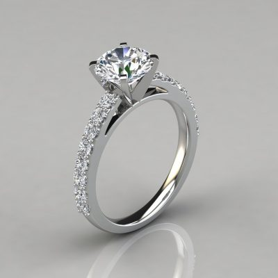 083w1-Round-Cut-White-Solid-Gold-Engagement-Ring-Man-Made-Diamonds-Pure-Gems-Jewels