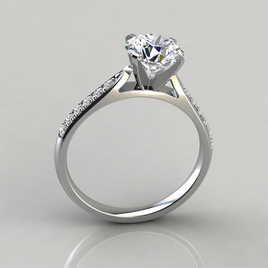ct diamond rings micro engagement ring prong designs jewelry orange shop store white gold cathedral