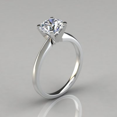 088w1-Classic-Lab-Created-Diamond-White-Gold-Engagement-Ring-Pure-Gems-Jewels