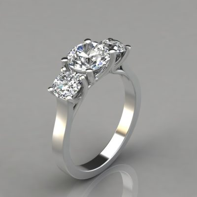 Three-Stone-Round-Cut-Cross-Prong-Engagement-Ring-Man-Made-Diamond