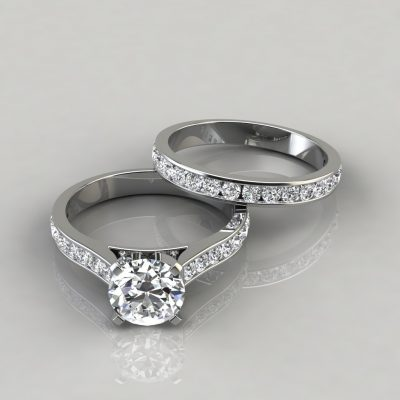 Round-Cut-Engagement-Ring-and-Wedding-Band-Bridal-Set-Man-Made-Diamond