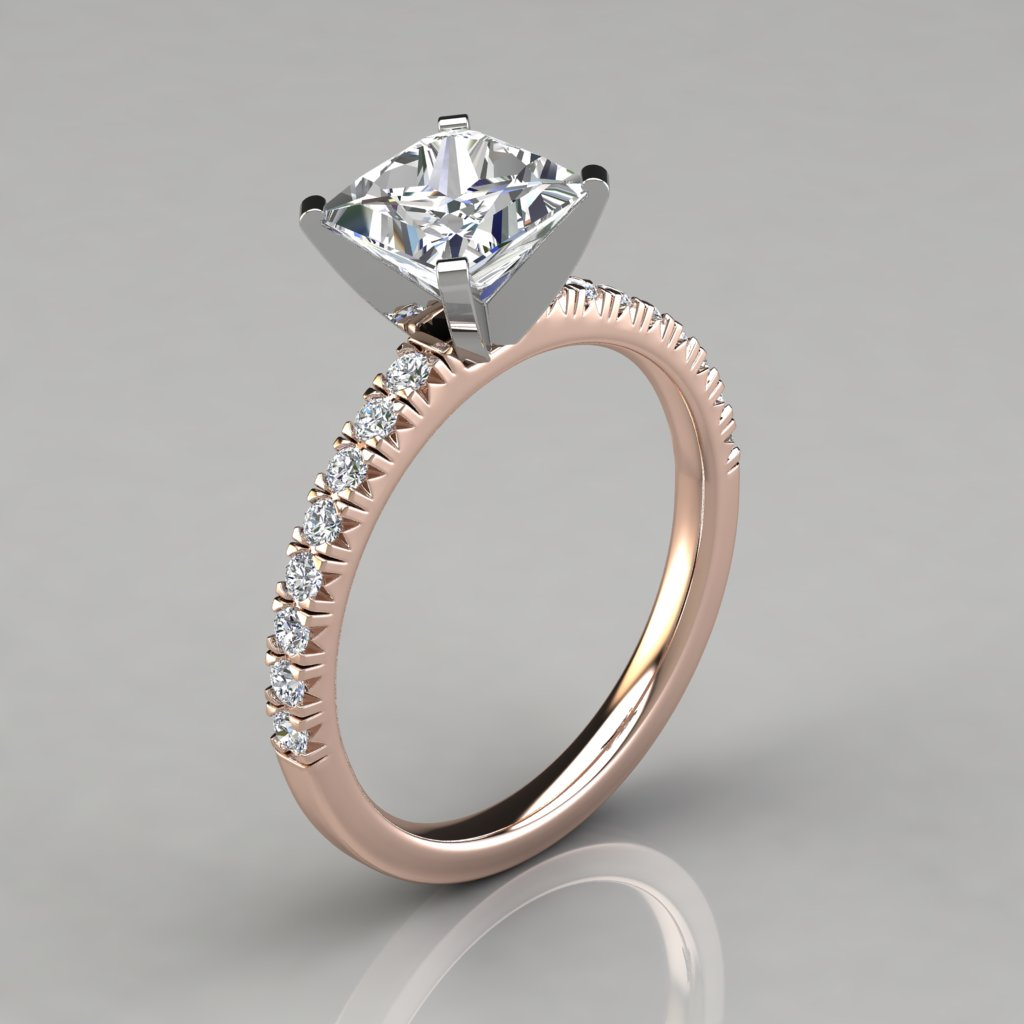 diamond rings classical meaningful gallery in style gold french white vintage engagement and