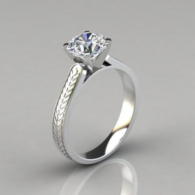 038w1-Vintage-Style-Engraved-Solitaire-Engagement-Ring-by-Pure-Gems-Jewels-White-Gold