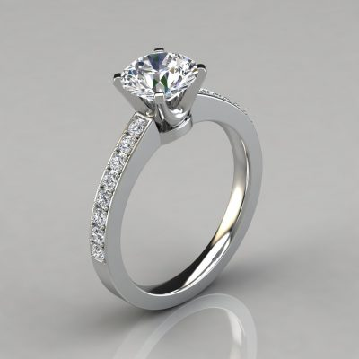 150w1-Novo-Design-Man-Made-Round-Cut-Diamonds-Engagement-Ring-Pure-Gems-Jewels-White-Gold