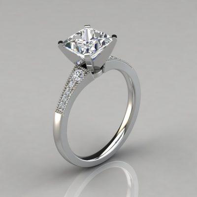280w1-white-gold-graduated-milgrain-princess-cut-engagement-ring