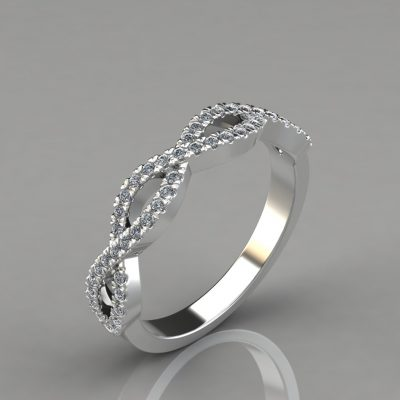 0.24Ct-Infinity-Design-Lab-Diamonds-Wedding-Band-Ring-Pure-Gems-jewels
