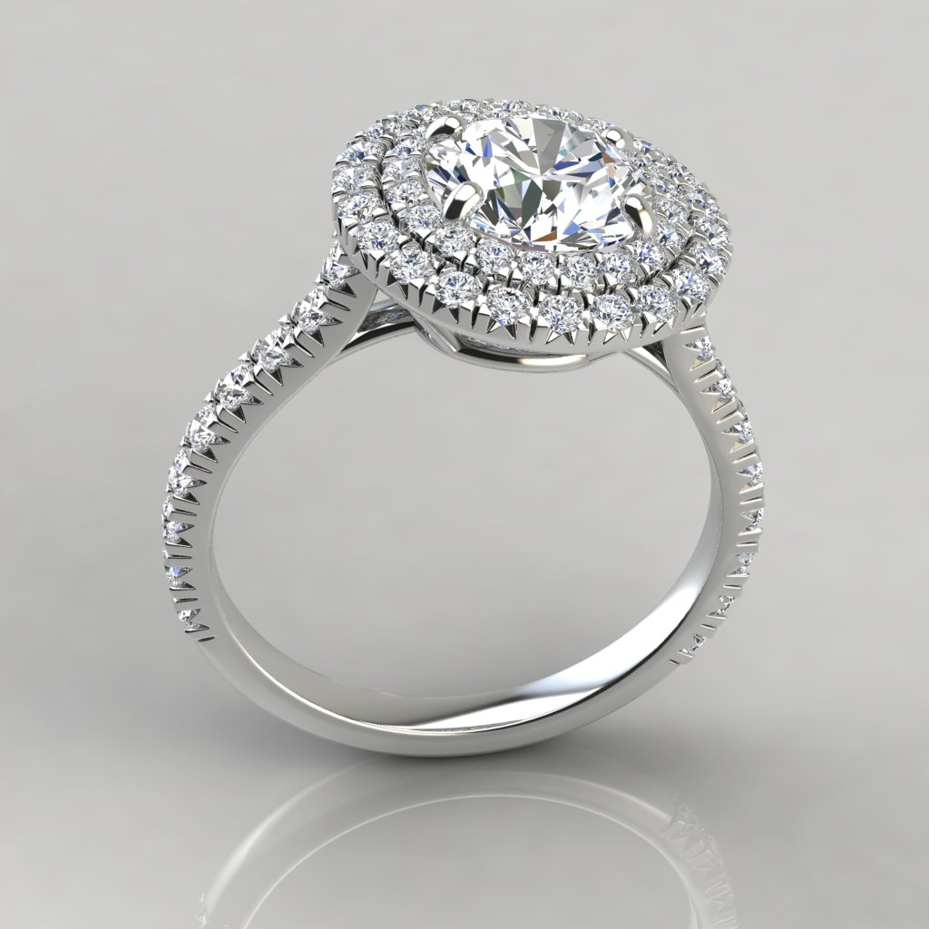 The gallery for --> Engagement Rings Round Cut Halo