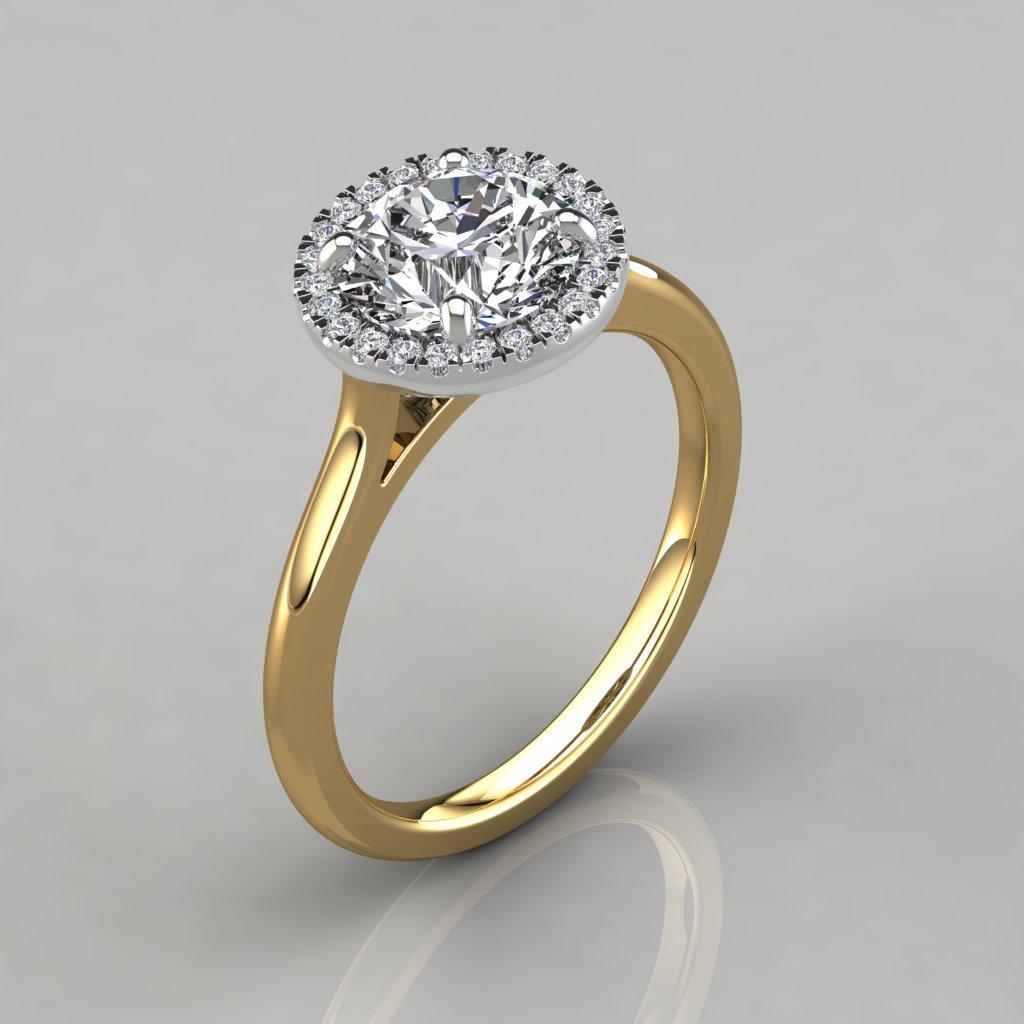 semi mount classic ring jaffe ajaffe front rings shop a split with shank engagement diamonds