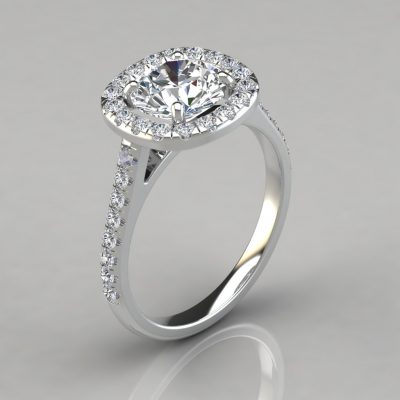 201w-Floating-Cushion-Shape-Halo-Style-Engagement-Ring-Lab-Diamond-Solid-White-Gold-Pure-Gems-Jewels
