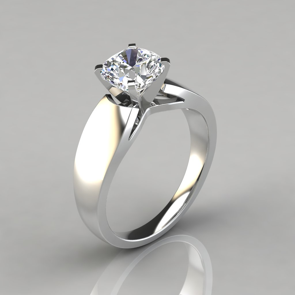Natural Stone Engagement Rings