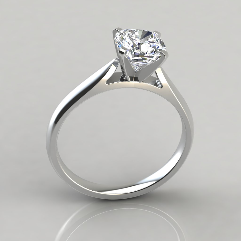 engagement setting best solitaire rings cathedral ring of