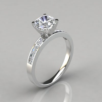 233w1-Channel-Set-Cushion-Cut-Lab-Diamond-Engagement-Pure-Gems-Jewels-Ring-White-Solid-Gold