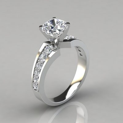 239w1-Graduated-Pavé-Cushion-Cut-Engagement-Ring-14k-White-Gold-Pure-Gems-Jewels
