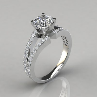 242w1-Split-Shank-Pavé-Cushion-Cut-Lab-Created-Diamond-Engagement-Ring-Pure-Gems-Jewels-White-Gold