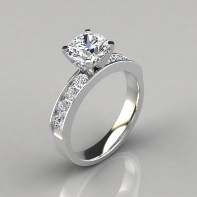 245w1-Channel-Set-Cushion-Cut-Lab-Created-Diamond-Engagement-Ring-Pure-Gems-Jewels-White-Gold