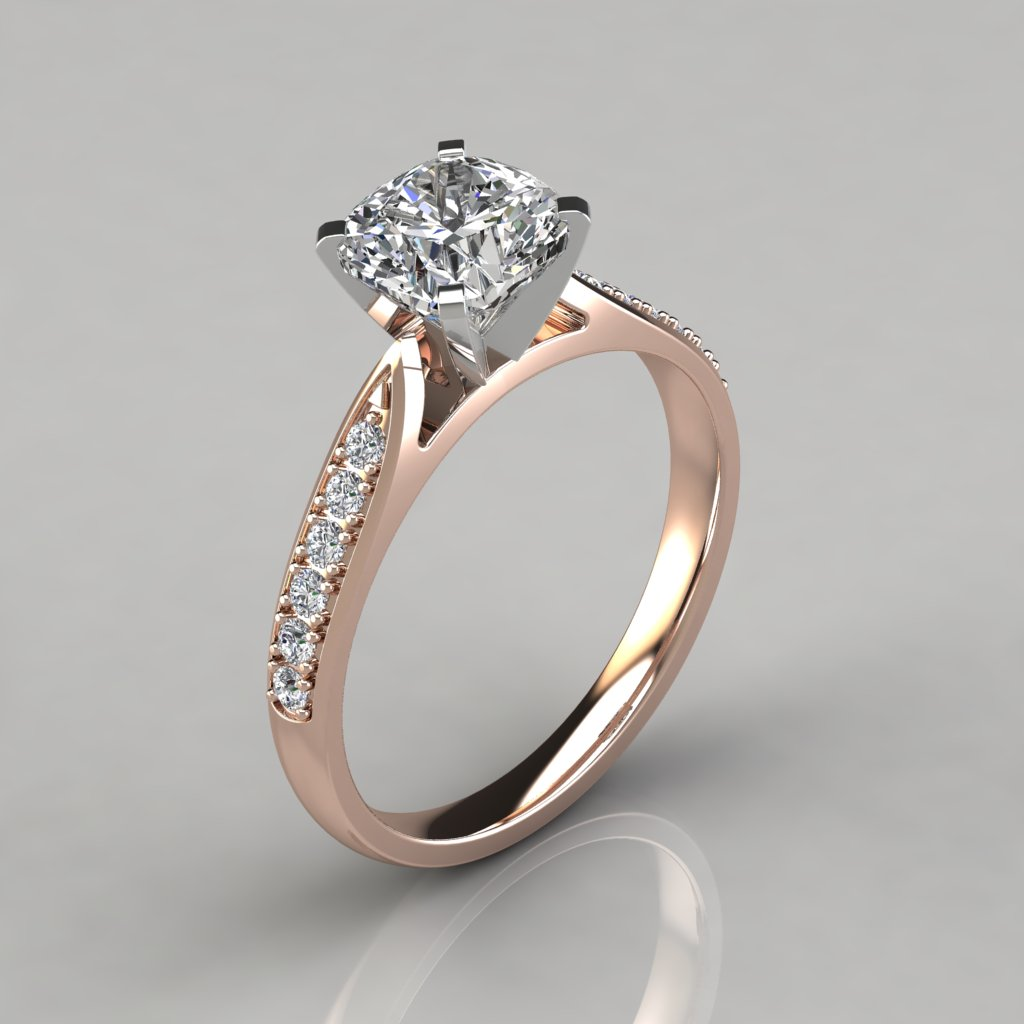 sterling media promise man wedding prong plated gold ring solitaire made diamond engagement rose ct simulant silver