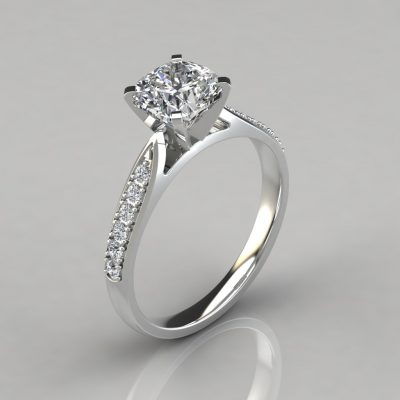 251w1-Tapered-Cathedral-Cushion-Cut-Man-Made-Diamond-Engagement-Ring-Pure-Gems-Jewels-White-Gold