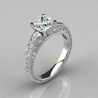 254w1-hand-engraved-vintage-design-cushion-cut-lab-diamond-engagement-ring-white-gold