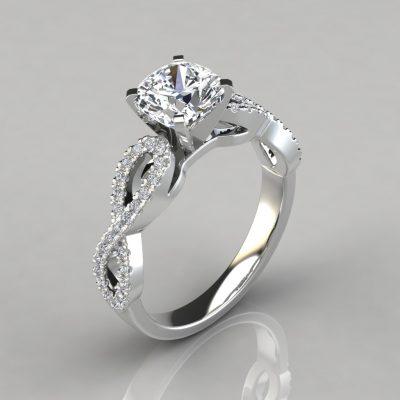 259w1-infinity-design-cushion-cut-man-made-diamond-engagement-ring-white-gold